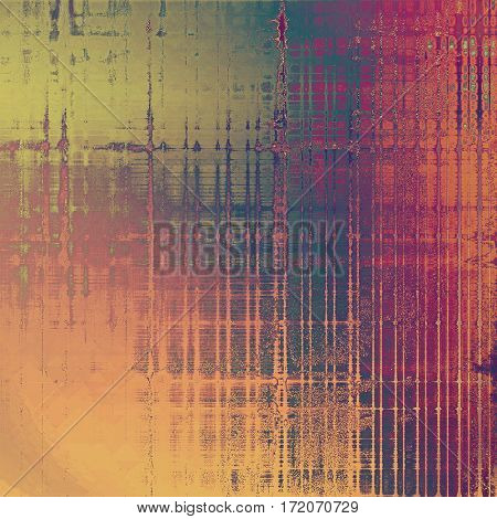 Elegant vintage background, antique texture. Designed grunge template with different color patterns: yellow (beige); brown; green; red (orange); purple (violet); pink