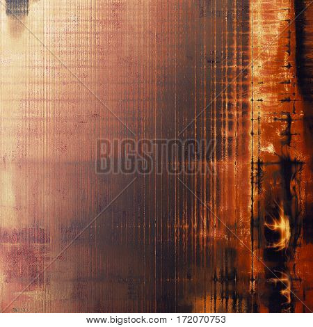 Creative vintage grunge texture or ragged old background for art projects. With different color patterns: yellow (beige); brown; gray; red (orange); purple (violet); pink