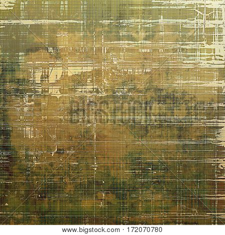 Grunge old-school texture, background for design. With different color patterns: yellow (beige); brown; gray; green; white