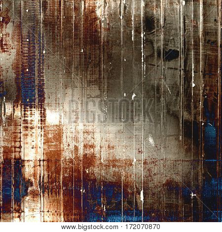 Antique vintage textured background. With different color patterns: yellow (beige); brown; gray; blue; white