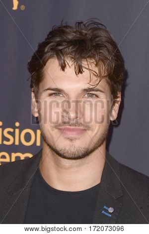 LOS ANGELES - FEB 16:  Gleb Savchenko at the Whose Dance Is It Anyway? Event at the ATAS Saban Media Center on February 16, 2017 in North Hollywood, CA