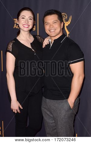 LOS ANGELES - FEB 16:  Rachel Grate, Vincent Rodriguez III at the Whose Dance Is It Anyway? Event at the ATAS Saban Media Center on February 16, 2017 in North Hollywood, CA