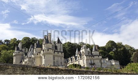 Usse Castle In Loire Valley