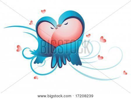 Valentine illustration vector