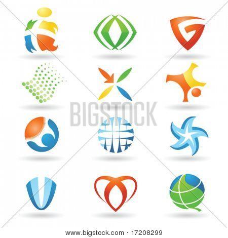 Set of vector design elements 3