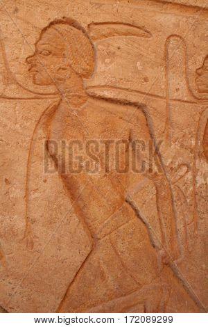 Warrior Abu SImbel Aswan Egypt Near the Nubian Border