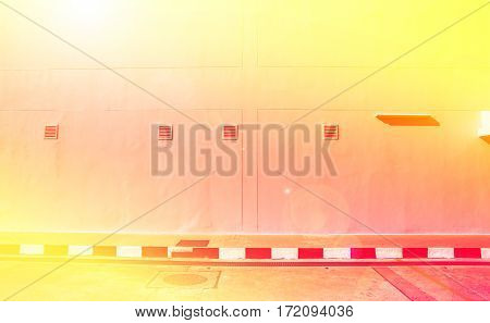 Abstract street wall background texture with color filter