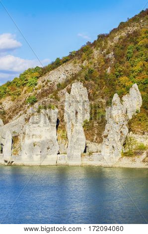 Photo of Blue Lake Landscape View in Bulgaria