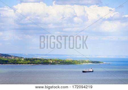View at Varna Town and Black Sea Bulgaria
