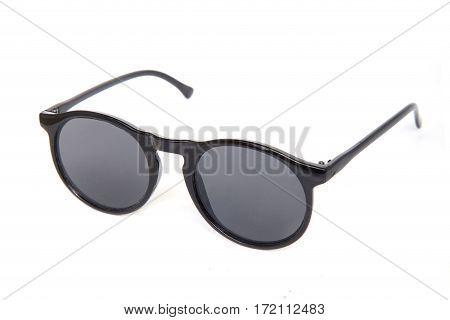 Sunglasses , isolated on white background .