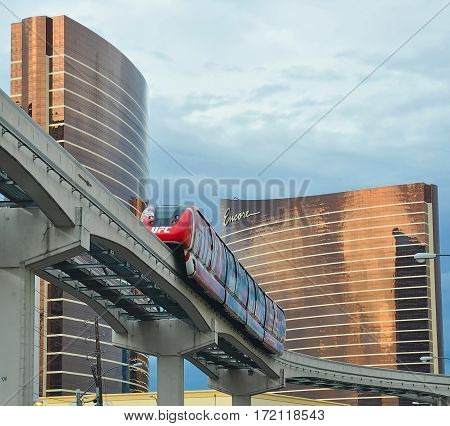 Vegas Encore Tramway And Ufc