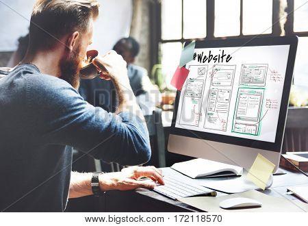 Webpage Content Design Website Icon