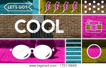 Cool Chic Fashionable Trendy Sparkling Graphics