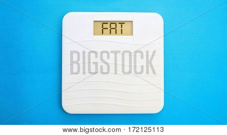 Bathroom Scale, Display Fat