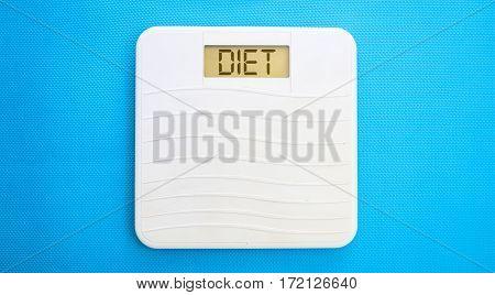 Bathroom Scale, Display Diet
