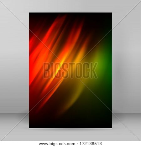 Abstract Background Advertising Brochure Design Elements01