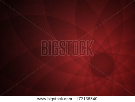 Abstract Curve Vector Background