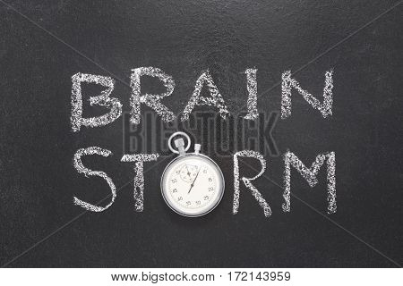 Brain Storm Watch