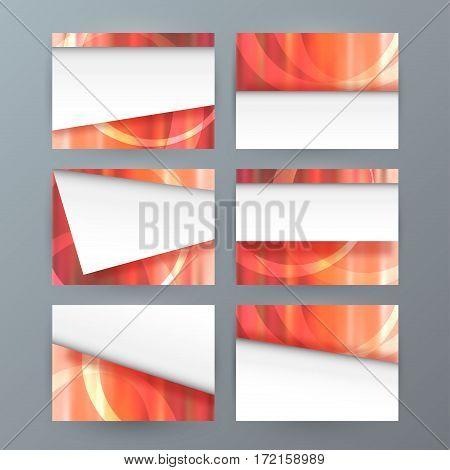 Set Of 6 Design Business Brochure  Templates For Multipurpose Presentation Slides01