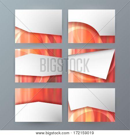 Set Of 6 Design Business Brochure  Templates For Multipurpose Presentation Slides02