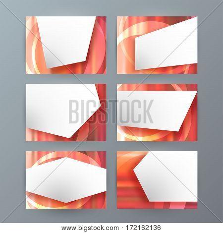 Set Of 6 Design Business Brochure  Templates For Multipurpose Presentation Slides07