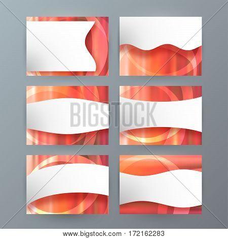 Set Of 6 Design Business Brochure  Templates For Multipurpose Presentation Slides08
