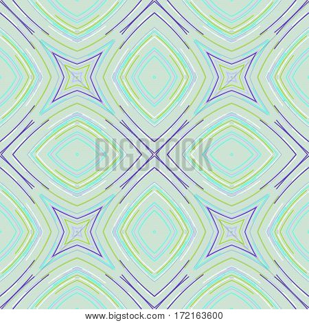 Seamless Geometric Pattern. Vintage Vector Ornament. Seamless Background Applicable For Print, Fabric, Textile, Package Or Wrapping Paper Design.