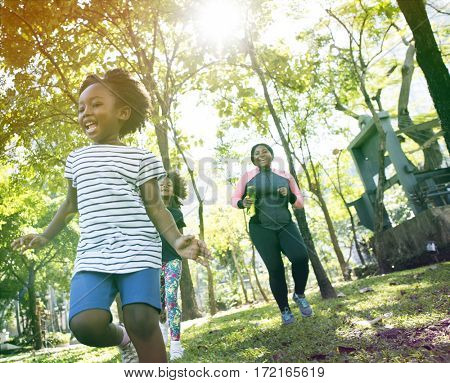 Exercise Activity Family Outdoors Vitality Healthy