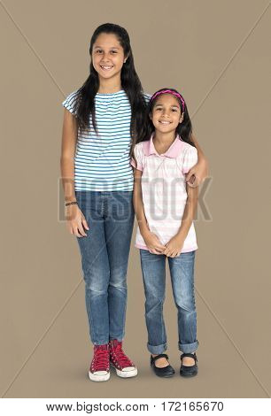 Asian Sisters Relationship Ethnicity Happy Concept