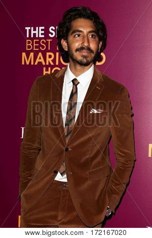 NEW YORK-MAR 3: Actor Dev Patel attends the premiere of