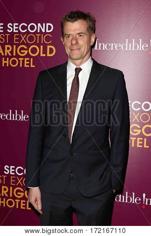 NEW YORK-MAR 3: Producer Graham Broadbent attends the premiere of