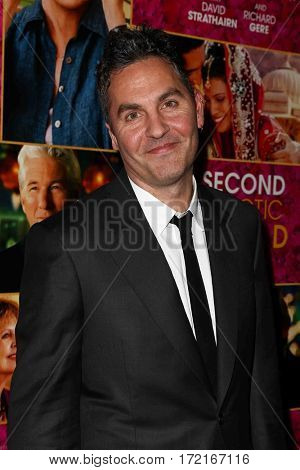 NEW YORK-MAR 3: Screenwriter Ol Parker attends the premiere of