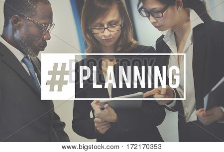 Planning Plan Partnership Business Word