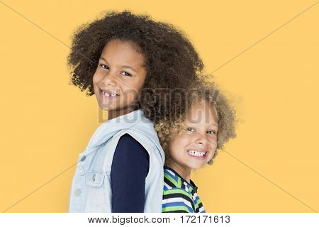 Diverse Kids Having Fun Portrait