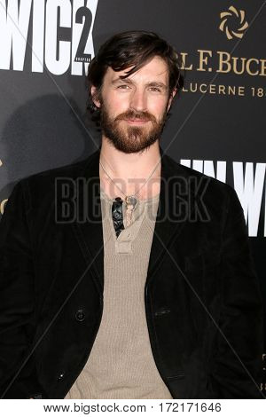LOS ANGELES - JAN 30:  Eoin Macken at the