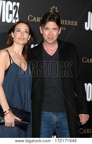 LOS ANGELES - JAN 30:  Claire Forlani, Dougray Scott at the