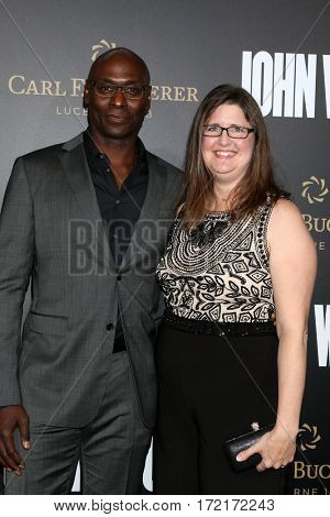 LOS ANGELES - JAN 30:  Lance Reddick, guest at the