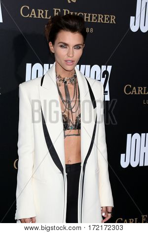 LOS ANGELES - JAN 30:  Ruby Rose at the