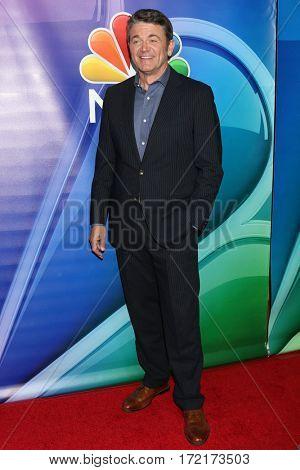 LOS ANGELES - JAN 18:  John Michael Higgins at the NBC/Universal TCA Winter 2017 at Langham Hotel on January 18, 2017 in Pasadena, CA