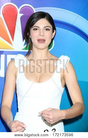 LOS ANGELES - JAN 18:  Monica Barbarao at the NBC/Universal TCA Winter 2017 at Langham Hotel on January 18, 2017 in Pasadena, CA