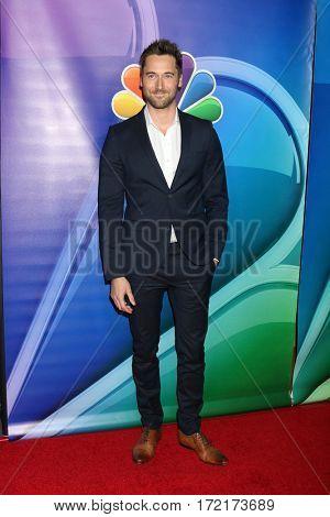 LOS ANGELES - JAN 18:  Ryan Eggold at the NBC/Universal TCA Winter 2017 at Langham Hotel on January 18, 2017 in Pasadena, CA