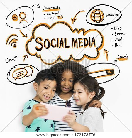 Social Media Children Chat