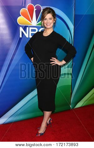 LOS ANGELES - JAN 18:  Briga Heelan at the NBC/Universal TCA Winter 2017 at Langham Hotel on January 18, 2017 in Pasadena, CA