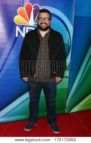 LOS ANGELES - JAN 18:  Horatio Sanz at the NBC/Universal TCA Winter 2017 at Langham Hotel on January 18, 2017 in Pasadena, CA