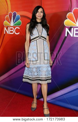 LOS ANGELES - JAN 18:  Famke Janssen at the NBC/Universal TCA Winter 2017 at Langham Hotel on January 18, 2017 in Pasadena, CA