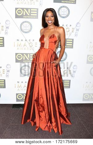 LOS ANGELES - FEB 10:  Yvonne Orji at the Non-Televisied 48th NAACP Image Awards at Pasadena Conference Center on February 10, 2017 in Pasadena, CA
