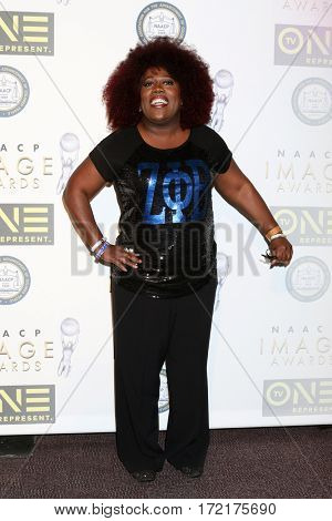 LOS ANGELES - FEB 10:  Sheryl Underwood at the Non-Televisied 48th NAACP Image Awards at Pasadena Conference Center on February 10, 2017 in Pasadena, CA