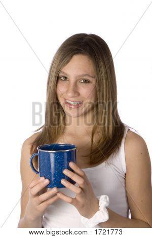 Girl With Mug