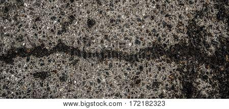 Asphalt, asphalt texture, asphalt background, gray asphalt, cracked, asphalt road