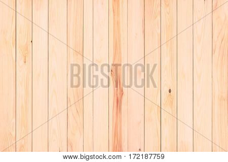 Brown natural wood wall texture and background.